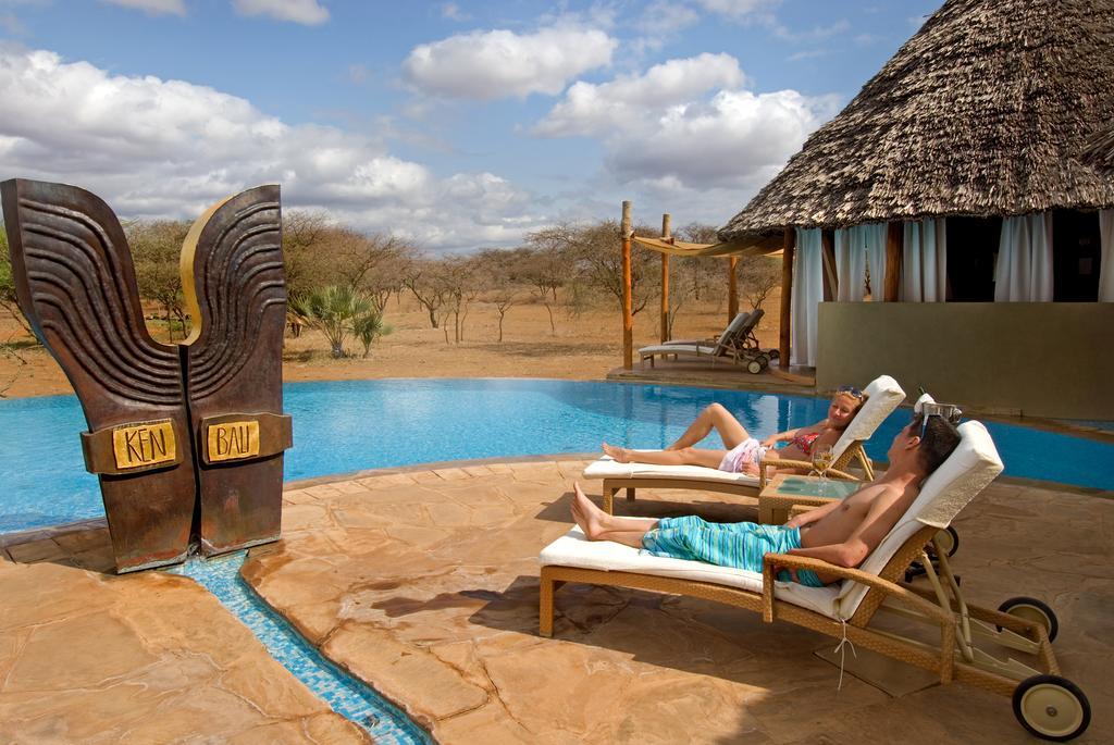 Ukázka tradiční africké safari lodge