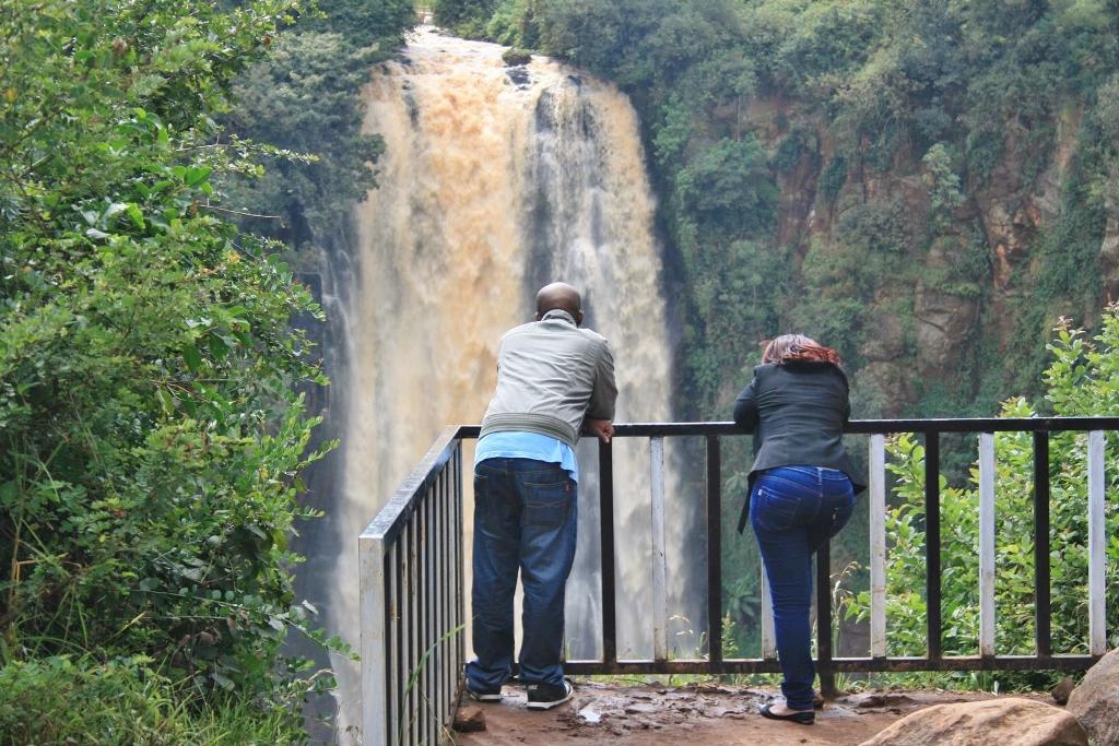Vodopády v národním parku Aberdare