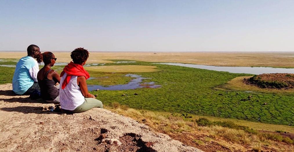 Mokřady v národním parku Amboseli