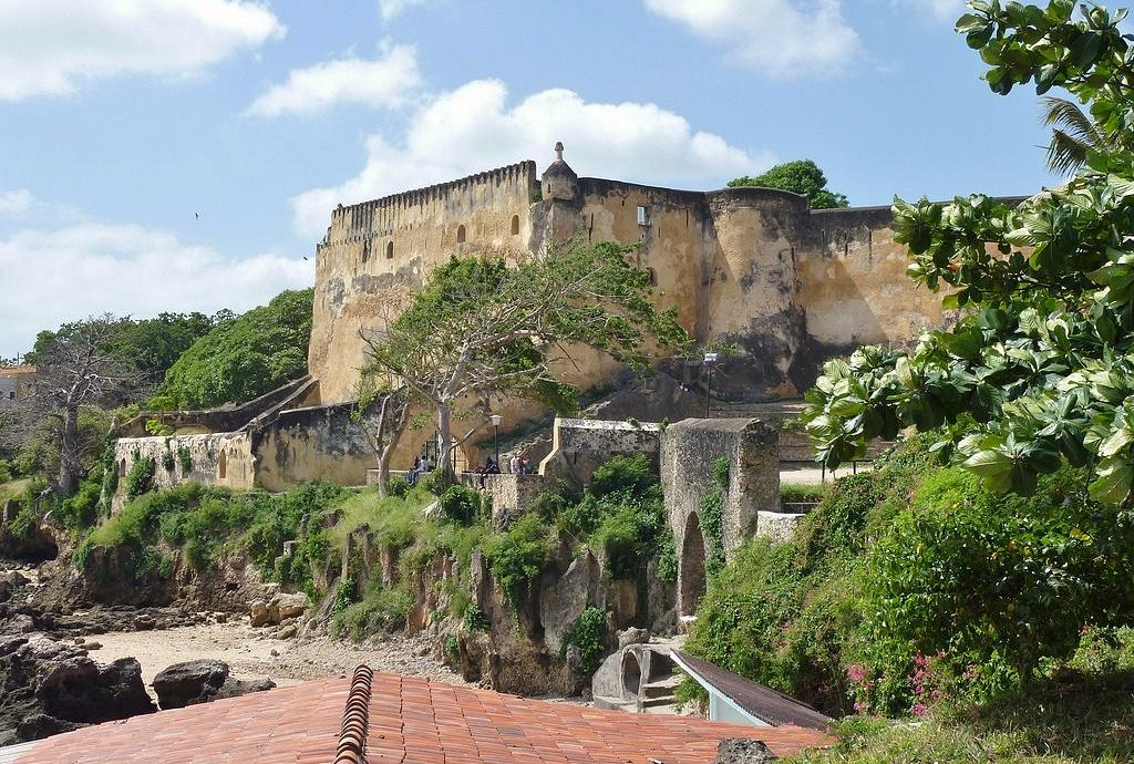 Historické památky v Keni - Pevnost Jesus