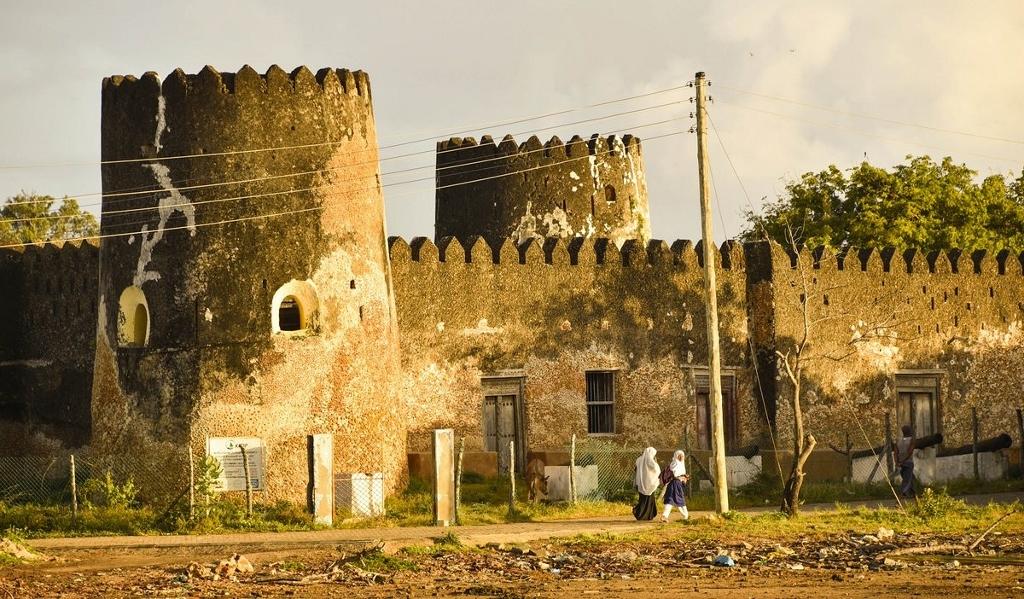 Historické památky v Keni - Pevnost Siyu