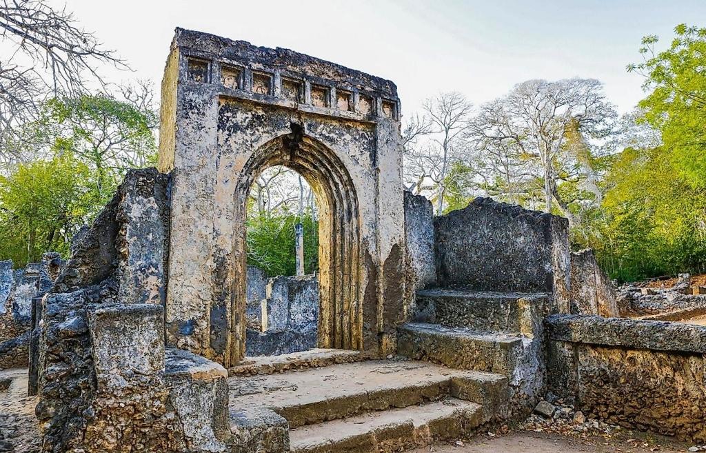Historické památky v Keni - Ruiny Gedi