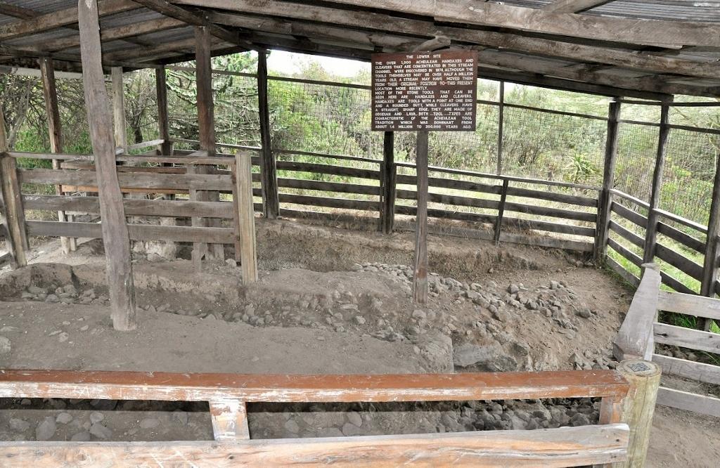 Prehistorické památky v Keni - Hyrax Hill
