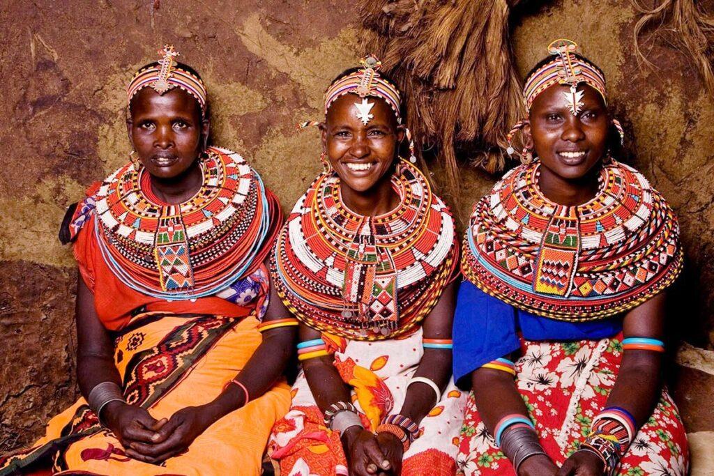 Lidé kmene Samburu