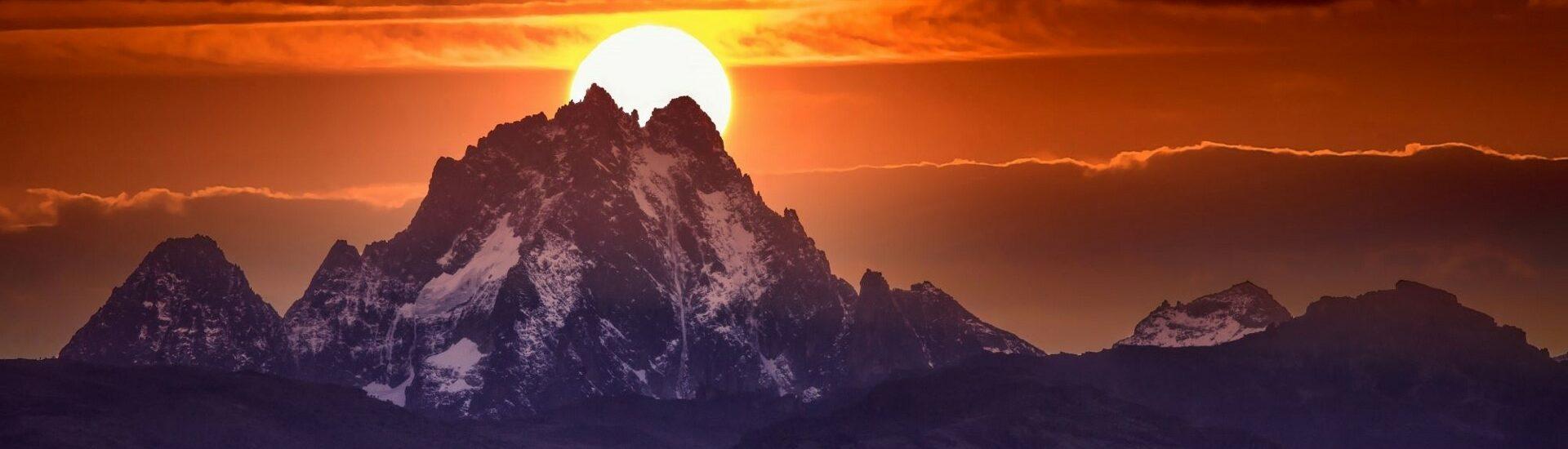 Výstup na Mount Kenya
