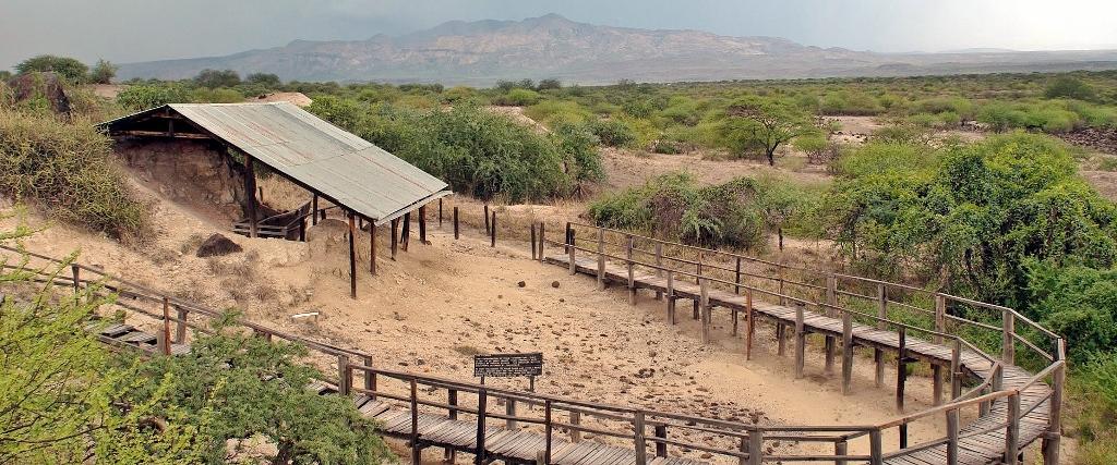 Prehistorické památky v Keni - Olorgasalie