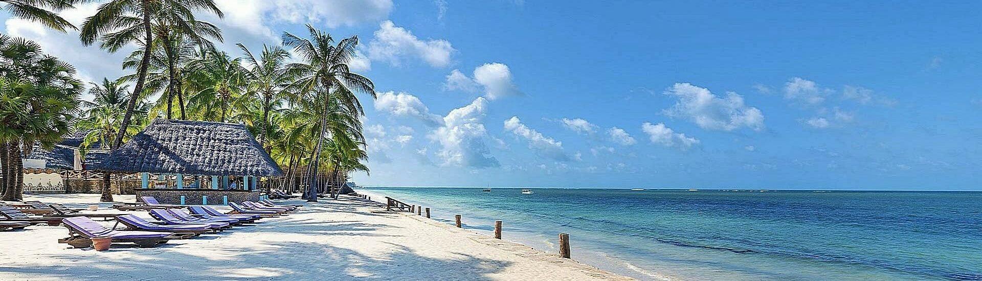 Keňské pláže