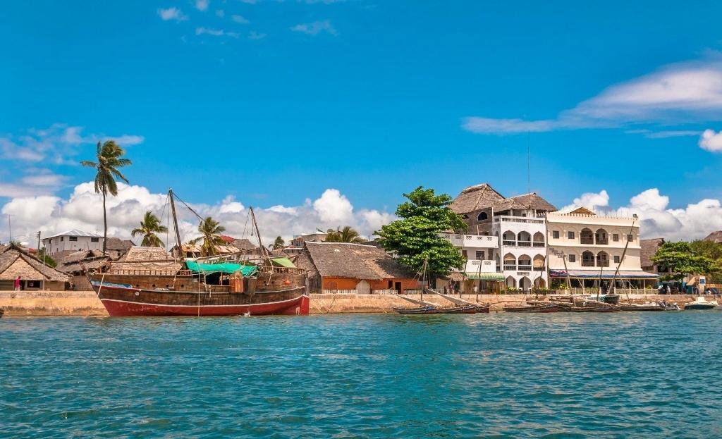 Město Lamu nabízí unikátní atmosféru