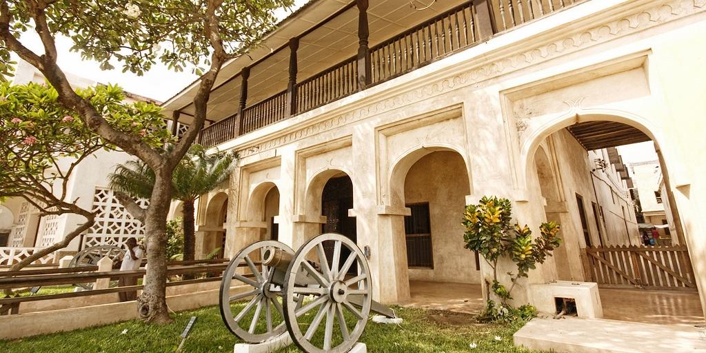 Pevnost a muzeum Lamu