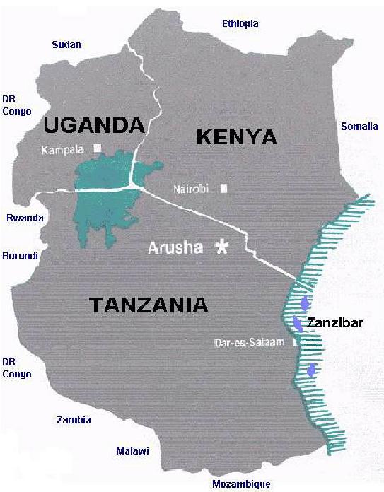 Dovolená v Keni, Tanzanii a Ugandě